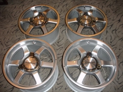2005-2006 FORD GT OR MUSTANG COMPLETE SET OF WHEELS