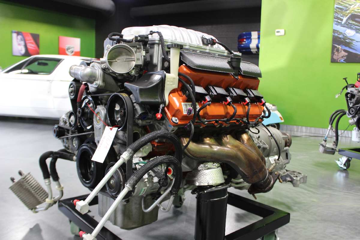 2016 Hemi 6.2L Hellcat Engine And Transmission Assembly